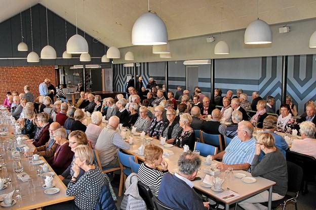 Næsten alle pladser var besat. Foto: Hans B. Henriksen