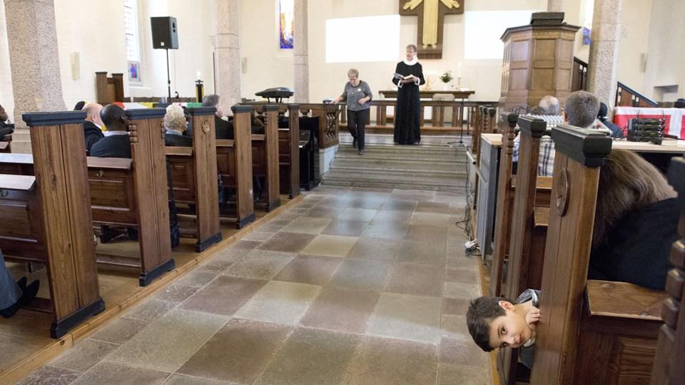 Målet er to gudstjenester i Brønderslev-Serritslev Pastorat. Arkivfoto: Henrik Louis
