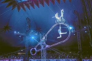 Cirkus Arena springer ind i fremtiden: Seks stjerner