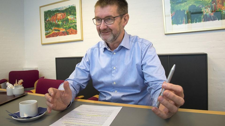 Jørgen Yde Jensen er adm. direktør for Skov A/S, der netop har vundet landbrugets vækstpris. Arkivfoto: Bo Lehm