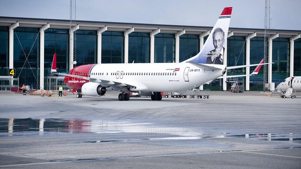 Med sommerfartplanen kommer der en ekstra afgang mellem Aalborg og København med Norwegian.Arkivfoto: Torben Hansen